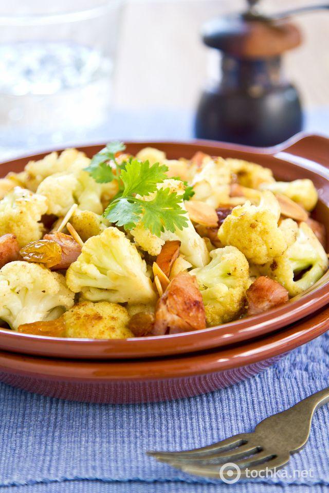 Блюда из цветной капусты: ТОП-10 лучших рецептов. Цветная капуста со свининой