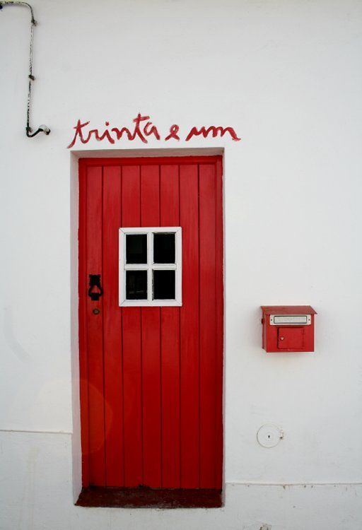 Nr door 31, the bright colors of Alentejo - Portugal