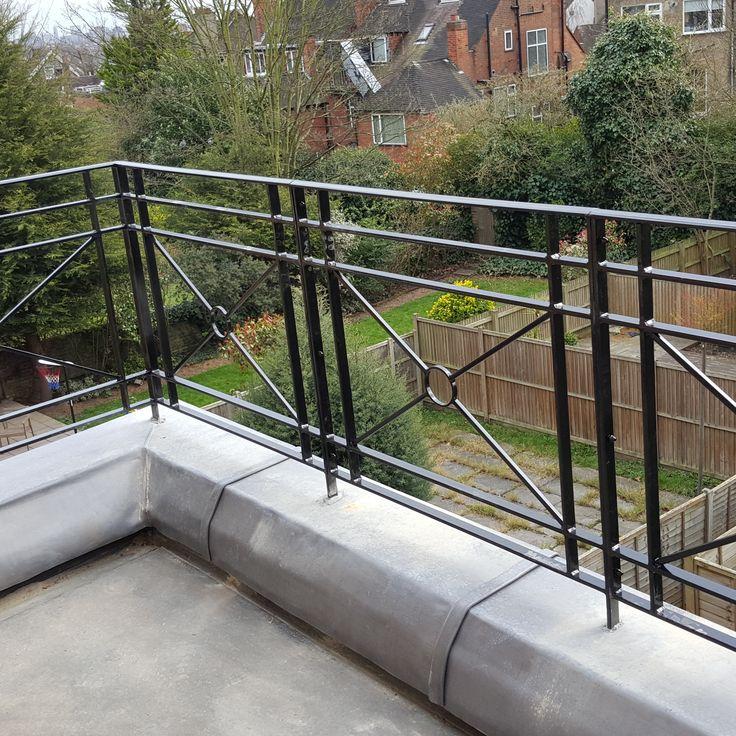 Roof Terrace Railings Titan Forge Ltd Macie 39 S House