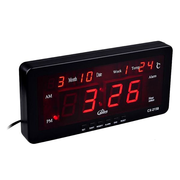 Account Suspended Clock Casio Digital Led Alarm Clock