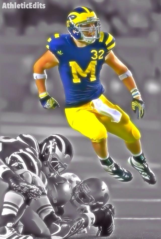 2013 NFL Draft! Jordan Kovacs Safety Michigan (With