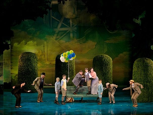2015 finding neverland musical  design by scott pask