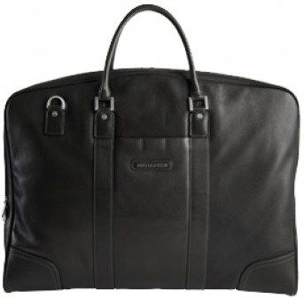 Jekyll & Hide Zulu Leather Suiter Black R6050 A beautiful and classy leather garment bag.  A product of Cape Town, the Jekyll & Hide range comprises the finest collection of naturally tanned leathers, tailored with a unique, mature finish, into high-quality travelling pieces.  Features: Carry handles Removable shoulder strap Large main compartment