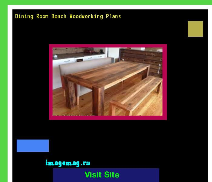 Wooden Dining Room Bench Plans