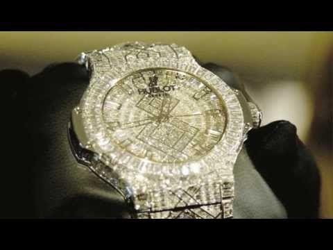 EL RELOJ MAS CARO DEL MUNDO. 5 millones de dolares. 282 diamantes