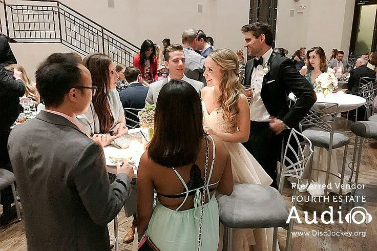 Roberto and Jenna shared the love by visiting their guests at their tables. http://www.discjockey.org/real-chicago-wedding-june-24-2017/