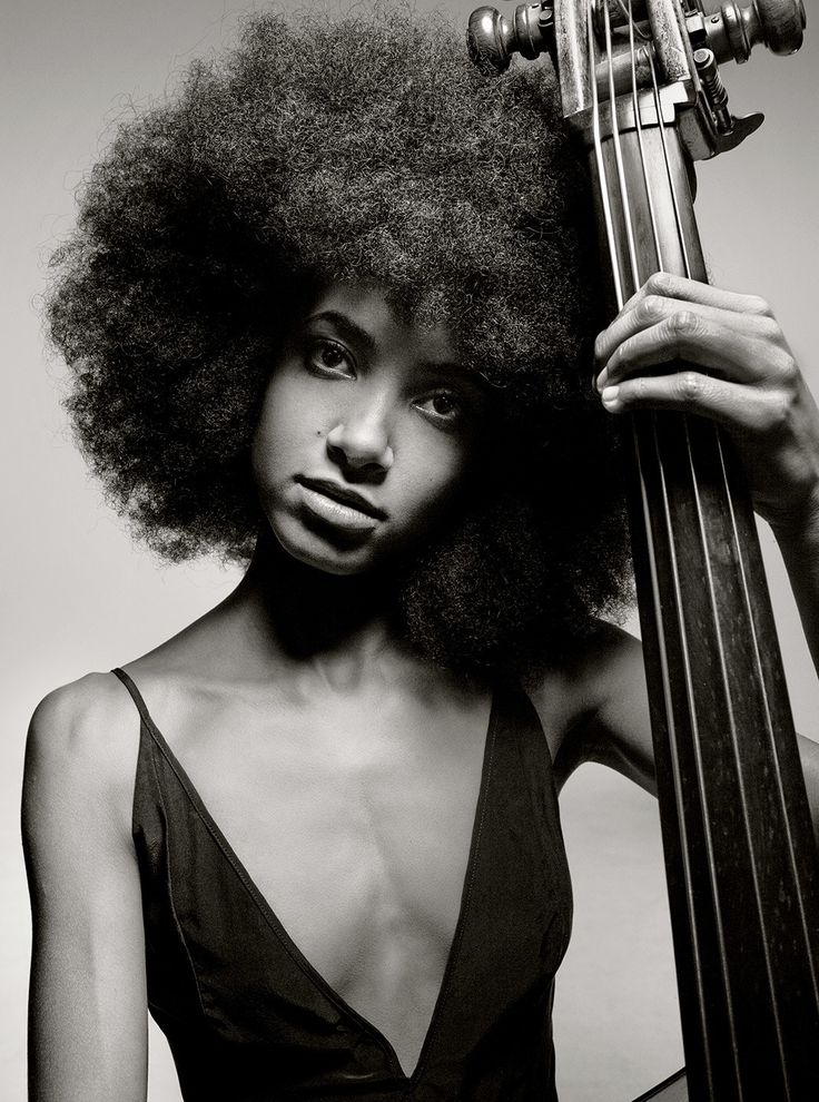 With deep roots in both pop and classical music, Esperanza Spalding,30—bassist, bandleader,composer, and vocalist—is the breakout star of jazz's second century. Photograph by Mark Seliger.