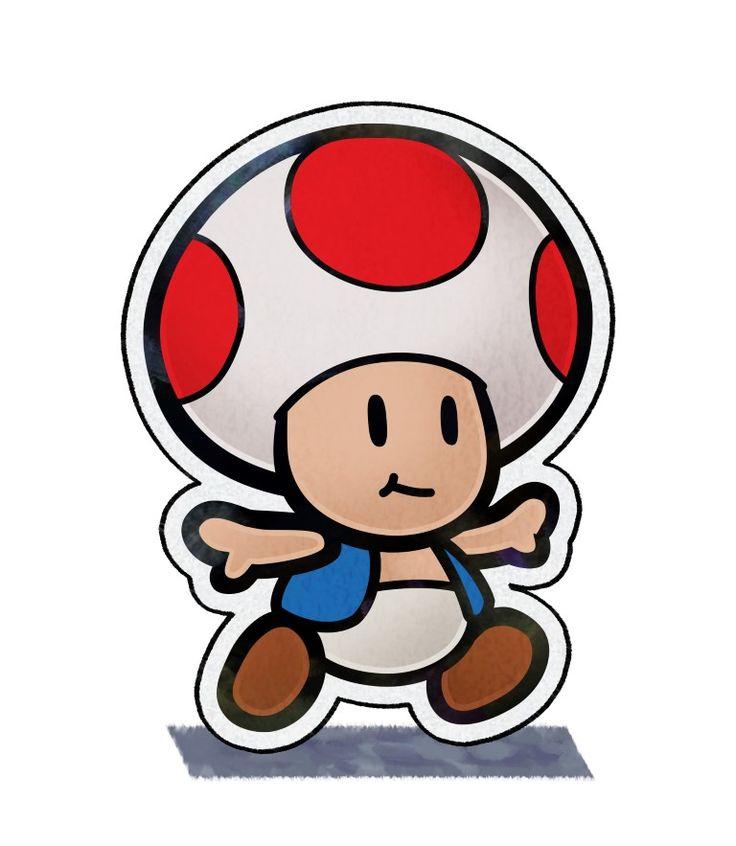 Paper Toad Mario & Luigi Paper Jam nintendo. Mario