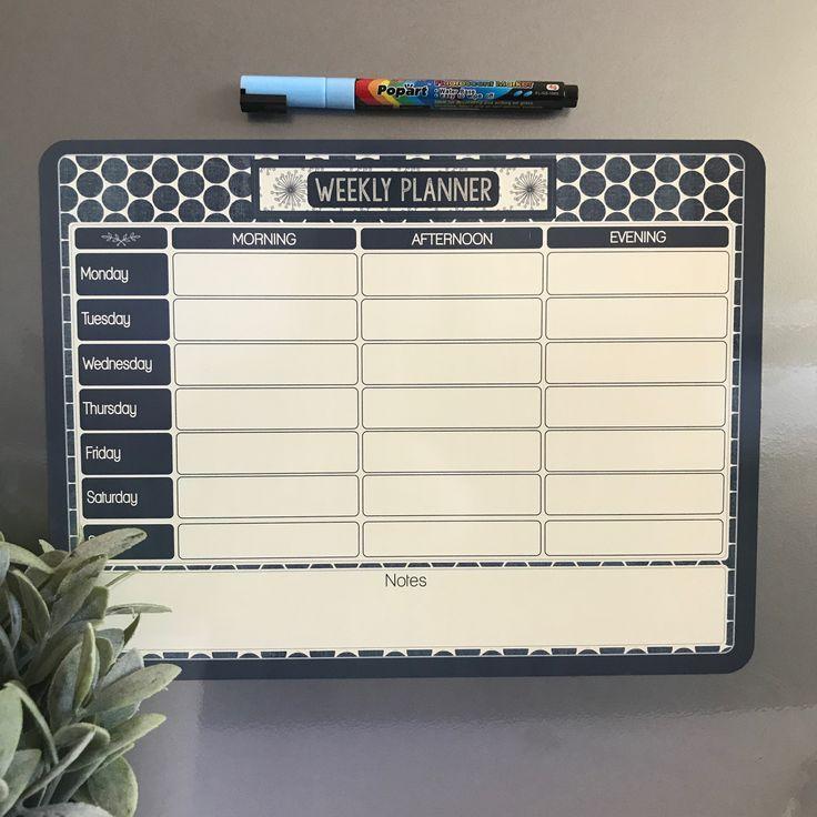 Reusable Fridge Magnet Calendar by ATP Creative Design
