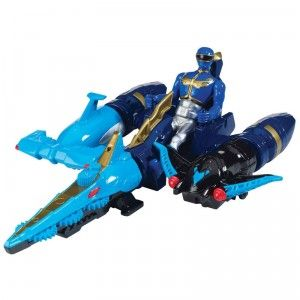 Power Rangers Megaforce Sea Brothers Zord Vehicle & Blue Ranger