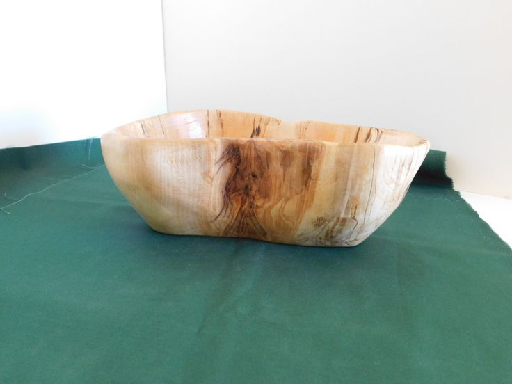 Alaskan Birch Bowl,  Lodge Rustic Decor, Hand Carved Wood Bowl, Decorative Bowl, Centerpiece, Nut Dish, Candy Dish, Wood Art, Wooden Bowl by TheWoodworkingShop on Etsy