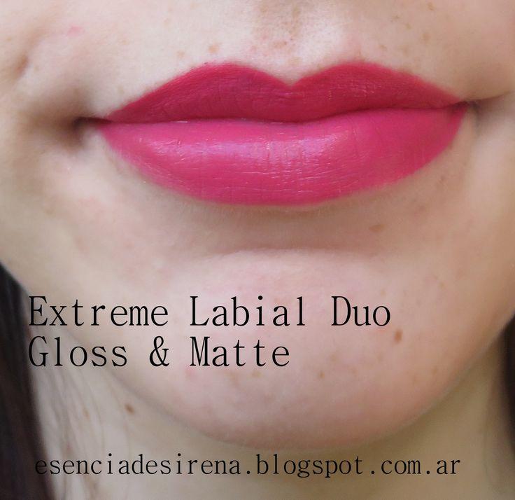 Extreme Labial Duo Gloss y Matte No encuentro el nombre del tono creo que es OLD ROSE