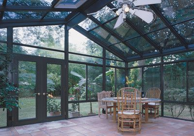 Aluminum Sunroom with Solid Roof