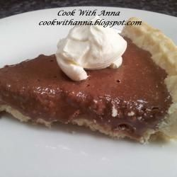 Childhood favorite of mine- A bedfordshire classic! :P  Chocolate toothpaste tart @ allrecipes.co.uk