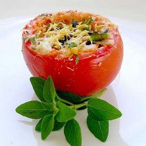 Nutri Super Health: Tomates recheados com fiambre de frango
