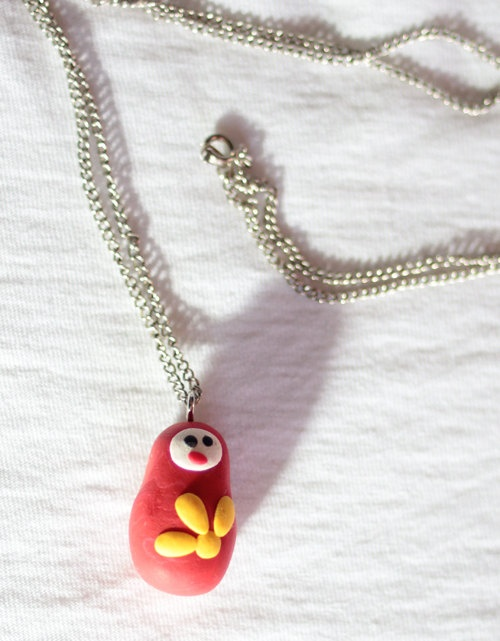 Russian doll necklace. £4.