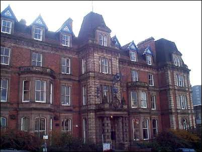 Hanley town hall - built as the Queens Hotel in 1869