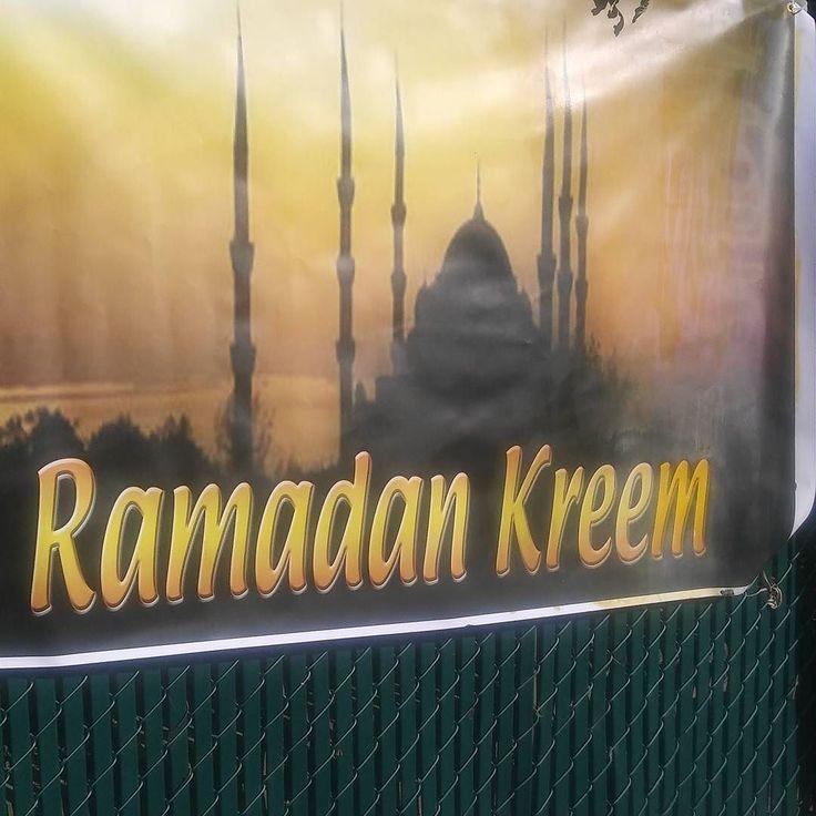 They tried. Ramadan kreem! Y'all.