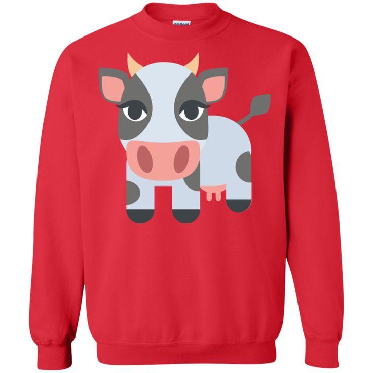 Cow Emoji Sweatshirt