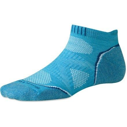 Because who doesn't love good running socks? Women's SmartWool PhD Running Light Micro Socks