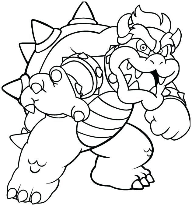 Bowser Coloring Pages Best Coloring Pages For Kids Super Mario Coloring Pages Super Coloring Pages Mario Coloring Pages