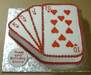 Cake for Casino Party