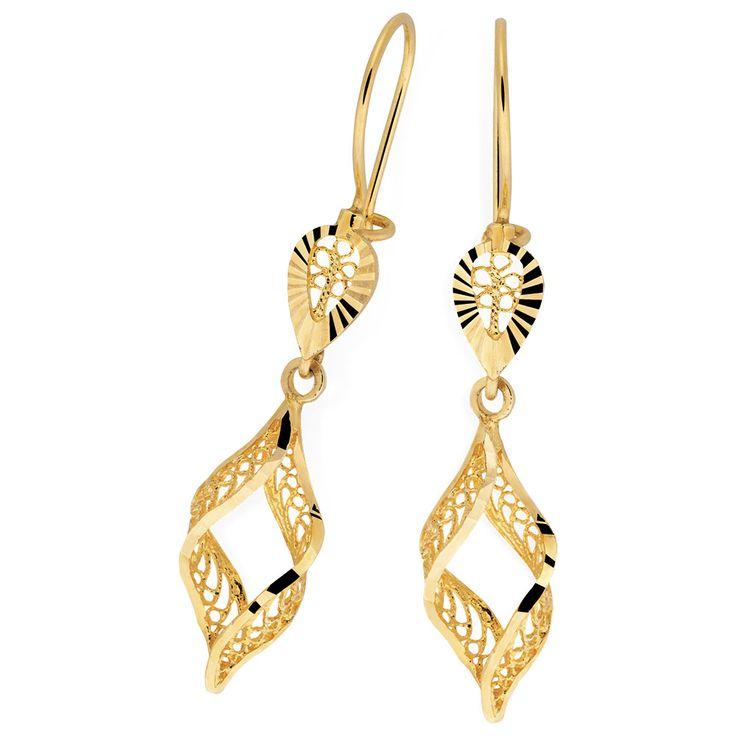 10ct Yellow Gold Earrings