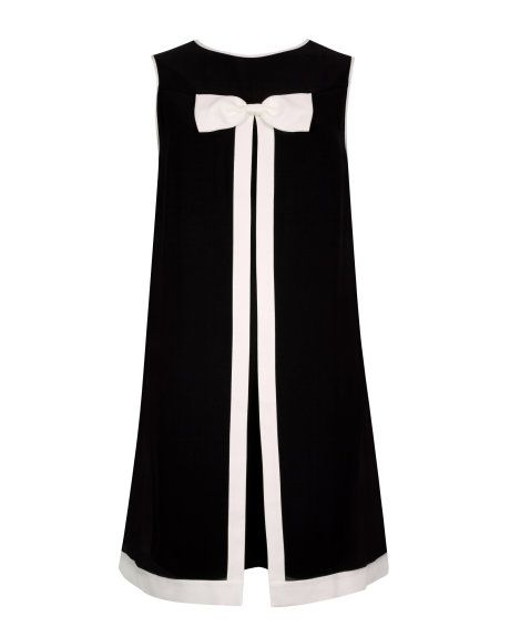JOSA | Bow detail dress - Black | New Arrivals | Ted Baker
