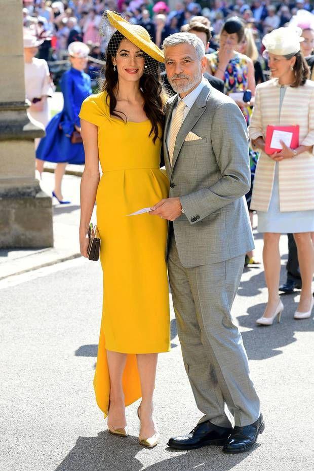 Der Style Von Amal Clooney Coole Kleider Cocktailkleid Hochzeit Kleid Hochzeitsgast