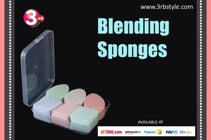 Sponges are the professional's choice for applying liquid, cream/powder and stick foundation, can also be used to blend concealer and blusher. It is always best to start with a little foundation and build up coverage gradually.