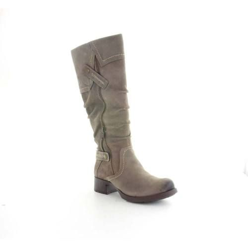 Earth-Womens-Sycamore-Knee-High-Boots-Dust-Vitange-Nubuck-Size-5-B-M