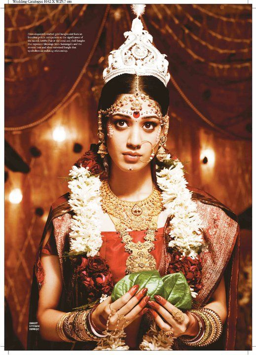 bengali bride (tanishq collection)