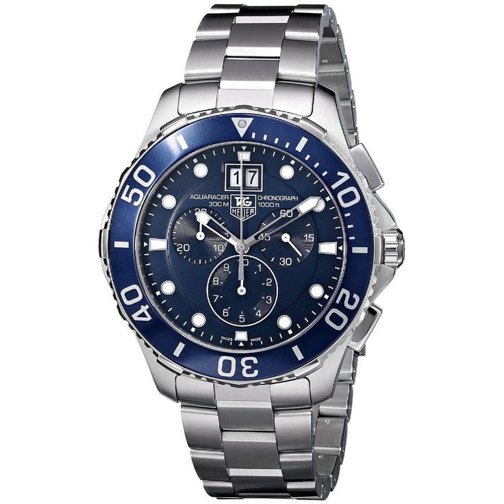 Tag Heuer Men's CAN1011.BA0821 'Aquaracer' Chronograph Automatic Watch