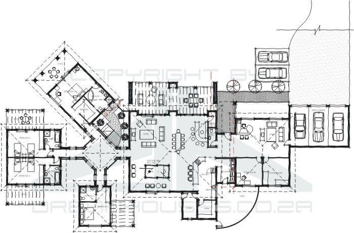 Stupendous Guest House Floor Plan Arch Pinterest Plantas De Largest Home Design Picture Inspirations Pitcheantrous
