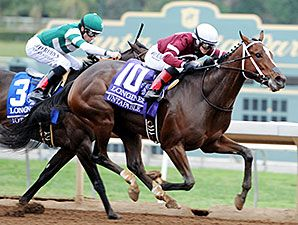 Winchell Thoroughbreds homebred Untapable was a runaway winner for best 3-year-old filly with four grade I victories, including defeating older mares in the Breeders' Cup Distaff and winning 3yo filly eclipse award for 2014.