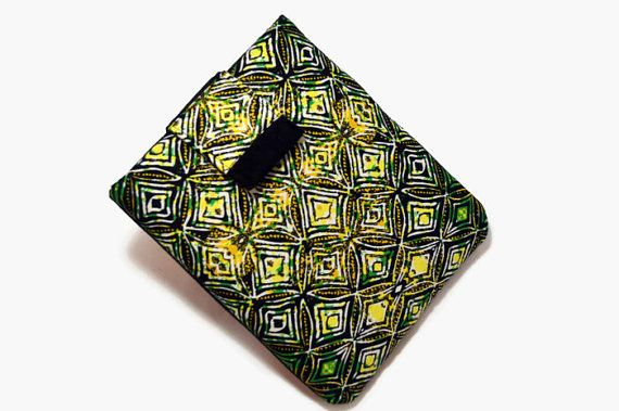 Hand Crafted Tablet Case from Ethnic/African Fabric /Case for