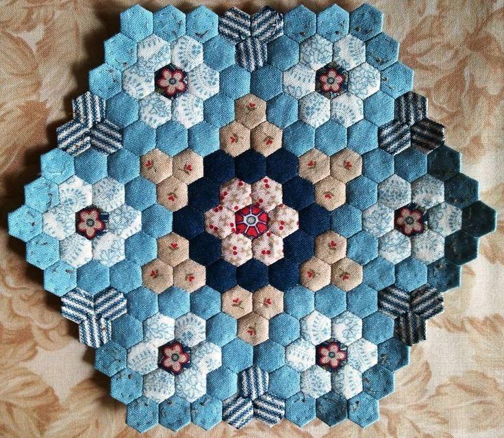 Hexagon couette 19.12.2011