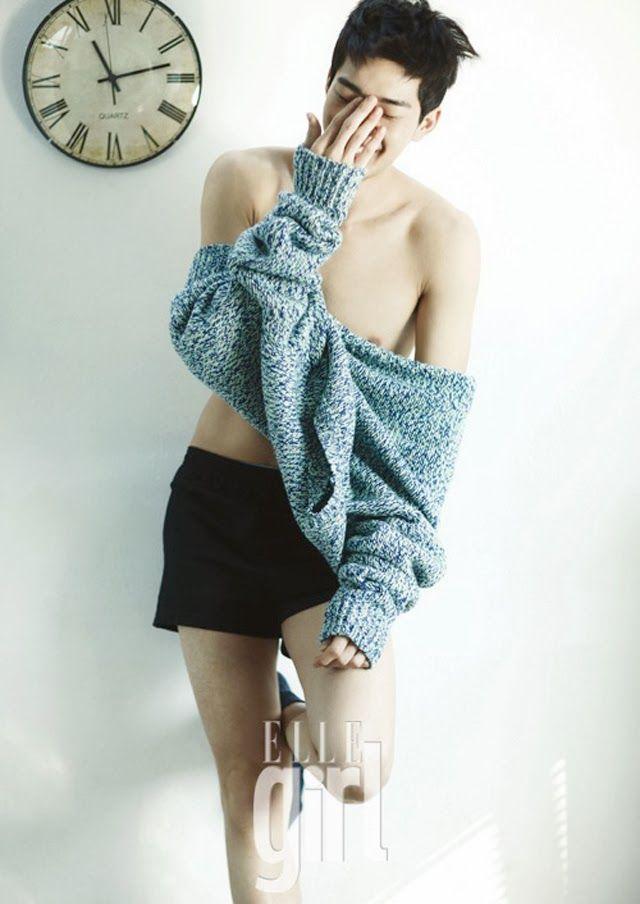 Korea Model모델 /Idol아이돌: ELLE girl /Christmas Boy 2012