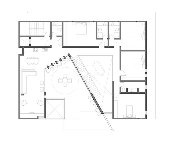 Gallery of box house ii massive order 10 box houses for Massive house plans