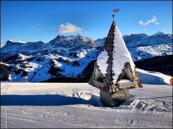 Corvara, Alta Badia, Alps, Italy, Mountain, Nature, Skiing