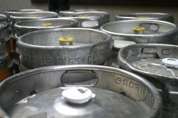 Many people party on the weekends, getting a keg, setting it up and inviting their friends over to enjoy the tap.