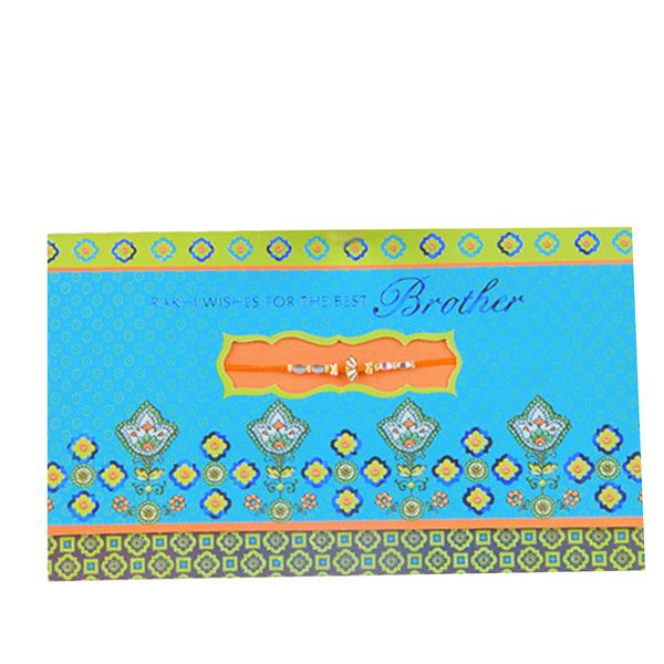 Rakhi Wishes For The Best Brother Rs. 40.00   Rakhi wishes for the best brother The best times are the time we've shared with each other. Here's wishing that our love grows in the years to come. Rakhi wishes with love.     Rakhi included with card.