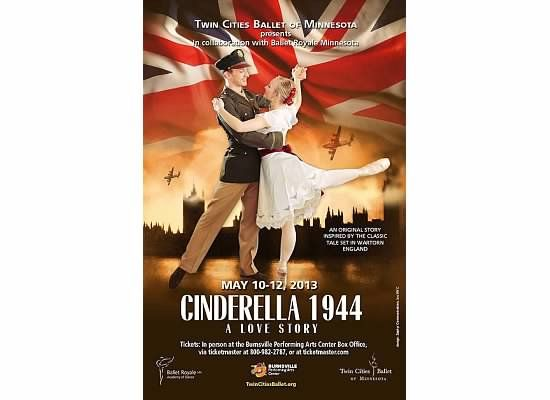 Promotional poster for TCB's Cinderella 1944: A Love Story