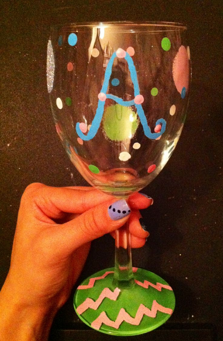 17 best images about diy wine glasses on pinterest sippy for Diy painted wine glasses