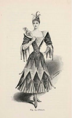 1896___ Folly (fancy Dress). Holt, Ardern: Fancy dresses described; or, what to wear at fancy balls. Debenham and Freebody