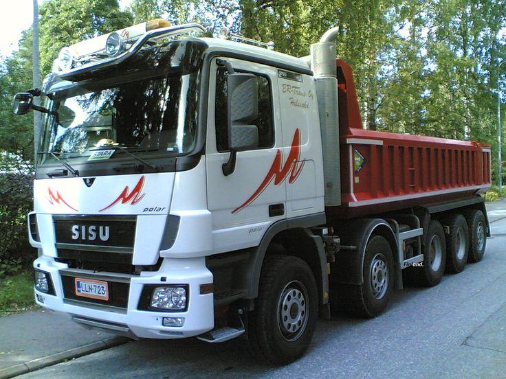 Sisu Truck ER-Trans Helsinki Finland..