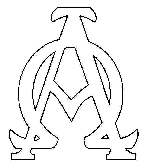 Tatuagem Alfa Omega on alphabet coloring pages color by letter e