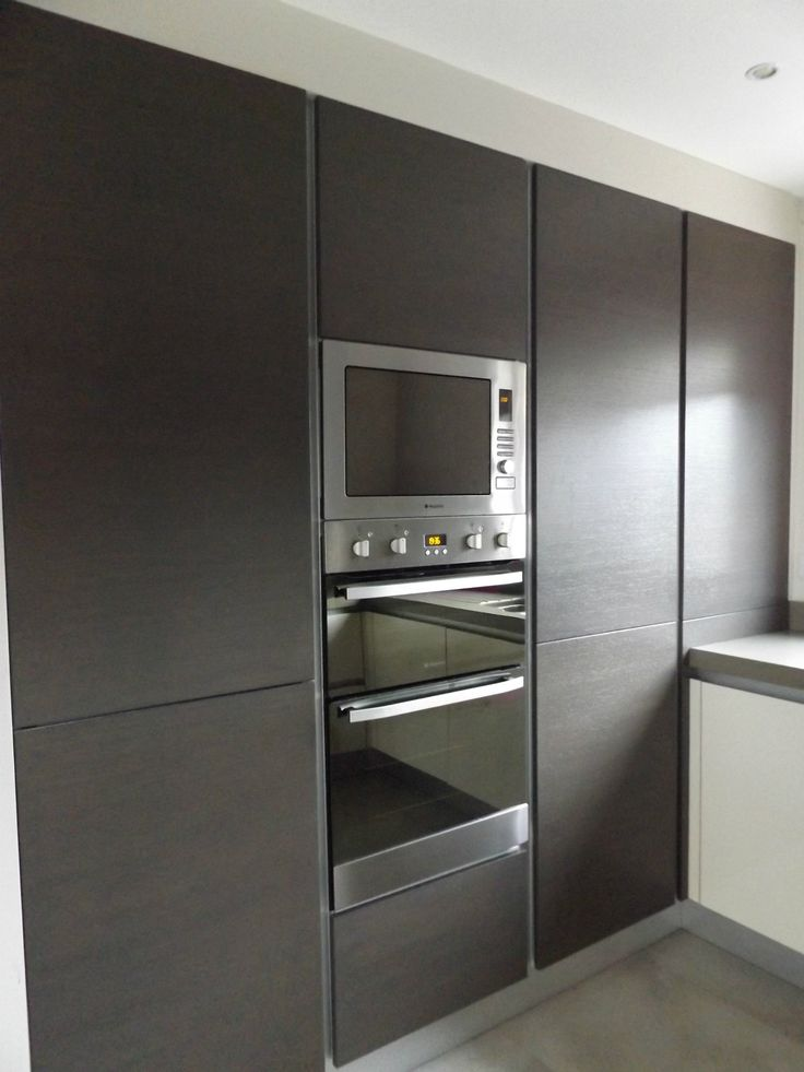 Gola Handleless Kitchen bank of units by Newhaven Kitchens, Carlow