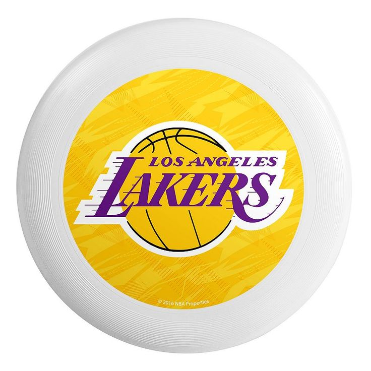 Forever Collectibles Los Angeles Lakers Flying Disc, Multicolor