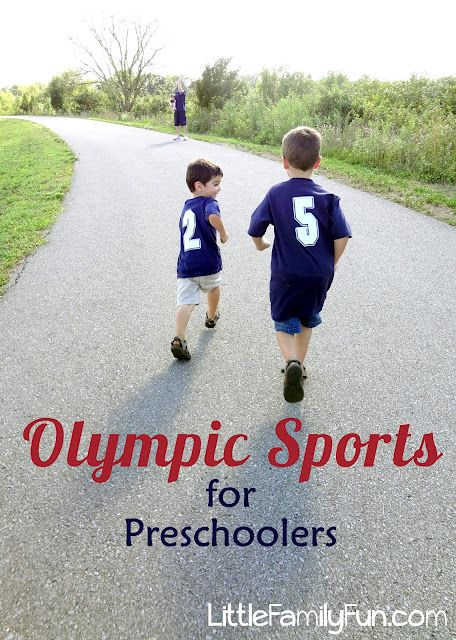 Have your own Olympics! Re-make Olympic events for kids.